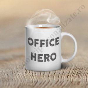 Cana personalizata Office Hero, cana personalizata, cani personalizate, cani haioase pentru birou