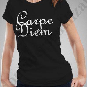 Tricouri personalizate Carpe Diem, tricouri personalizate motivationale, idei cadouri personalizate