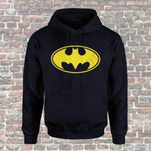 Hanorac barbati Batman, Hanorac dama With Batman, Hanorace cupluri, hanorace barbati, hanorace dama, idei cadouri personalizate
