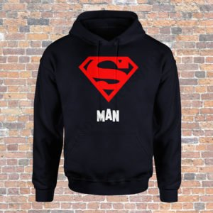 Hanorac barbati Superman, Hanorac dama Supergirl, Hanorace cupluri, hanorace barbati, hanorace dama, idei cadouri personalizate
