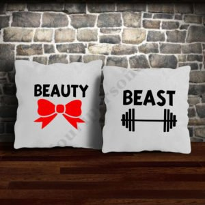 Perne Beauty Beast, perne personalizate, Idei cadouri personalizate