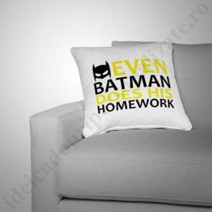 Perna Batman, perne copii, perna fete, perne personalizate
