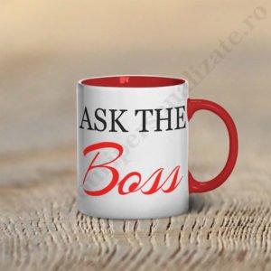 Cana Ask the Boss, cani cupluri, cani personalizate pentru cupluri, idei cadouri personalizate
