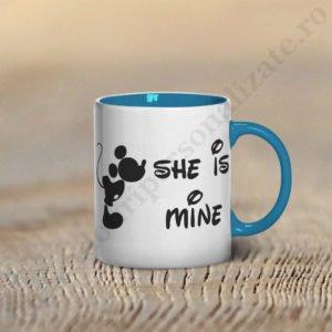 Cana Mickey, cani cupluri, cani personalizate pentru cupluri, idei cadouri personalizate