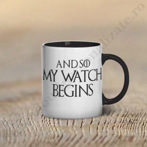 Cana Watch Begins, cani cupluri, cani personalizate pentru cupluri, idei cadouri personalizate