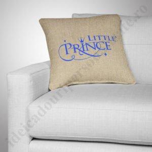 Perna canepa Little Prince, Perne personalizate pentru copii, perne copii, idei cadouri personalizate