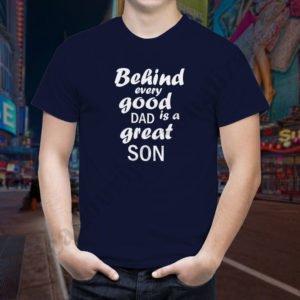 Tricou Good Dad, tricouri viitori parinti, idei cadouri personalizate