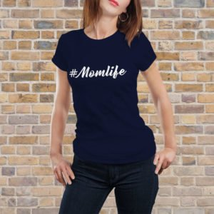 Tricou Momlife, tricouri viitori parinti, idei cadouri personalizate