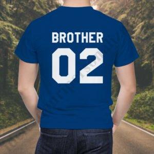 Tricou Brother Two, tricouri BFF, idei cadouri personalizate