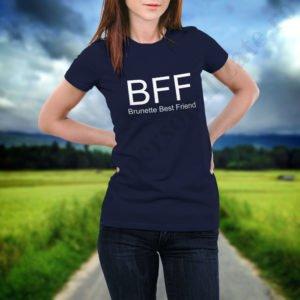 Tricou Brunette, tricouri BFF, idei cadouri personalizate