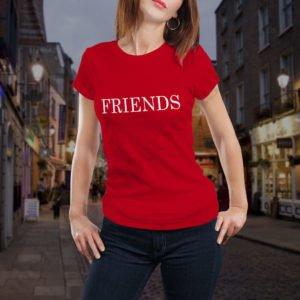 Tricou Best Friends Forever, tricouri BFF, idei cadouri personalizate