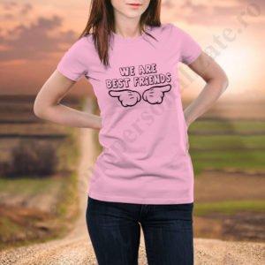 Tricou Best Friends Two, tricouri BFF, idei cadouri personalizate