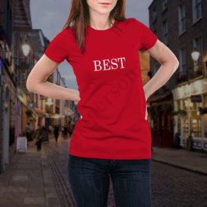 Tricou Best Friends, tricouri BFF, idei cadouri personalizate
