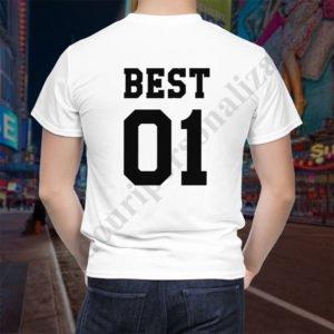 Tricou Best One, tricouri BFF, idei cadouri personalizate