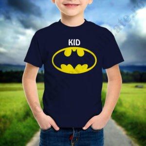Tricou baietel cu Batman, tricouri familie, idei cadouri personalizate