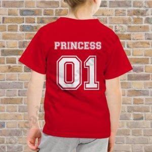 Tricou fetita Princess 01, tricouri familie, idei cadouri personalizate