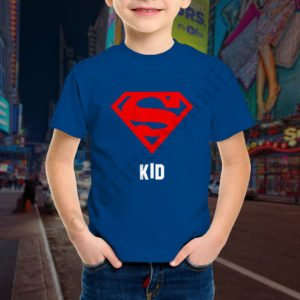 Tricou baietel Super Kid, tricouri familie, idei cadouri personalizate