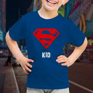 Tricou fetita Super Kid, tricouri familie, idei cadouri personalizate