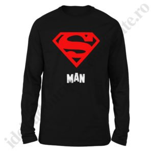 Bluza barbati Super Man, Bluza dama Super Girl, bluze, bluze cupluri, bluze barbati, bluze dama, idei cadouri personalizate