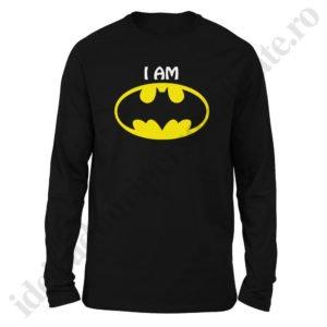 Bluza barbati cu Batman, Bluza dama cu Batman, bluze, bluze cupluri, bluze barbati, bluze dama, idei cadouri personalizate