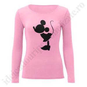 Bluza barbati cu Mickey, Bluza dama cu Minnie, bluze, bluze cupluri, bluze barbati, bluze dama, idei cadouri personalizate